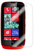 Skinomi TechSkin - Nokia Lumia 610 Screen Protector Ultra Clear Shield + Lifetime Warranty