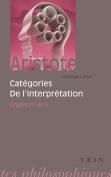 Aristote: Categories de L'Interpretation [FRE]