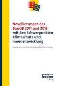 Novellierungen Des Baugb 2011 Und 2013 Mit Den Schwerpunkten Klimaschutz Und Innenentwicklung