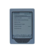 All New Amazon Kindle Wi-Fi 15cm E Ink Display Kindle 4th Generation Silicone Skin Case Gel Cover - Clear
