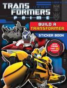 Transformers Prime Build a Transformer Sticker Book