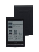 iShoppingdeals - for Sony PRS-T1 15cm Digital E-Ink Pearl eReader Soft Silicone Cover Skin Case, Black