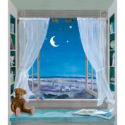 York Kids IV Sweet Dreams Window Mural
