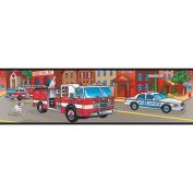 Mural Portfolio II Fire Truck Border