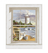 Mural Portfolio II Scenic Lighthouse Accent Wall Sticker