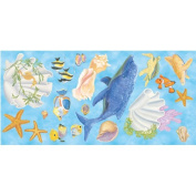Mural Portfolio II Under the Sea Accent Pieces Wall Sticker