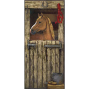 Mural Portfolio II Trompe L'Oiel Stable Door Accent Wall Sticker