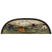 Mural Portfolio II Welcome Friends Country Arch Accent Wall Sticker