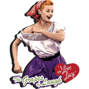I Love Lucy Grapes Chunky Magnet