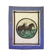 Patch Magic Horse Friends Cotton Crib Quilt