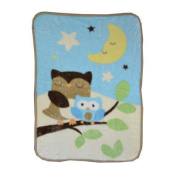 Just Born Goodnight Owl Hi-Pile Blanket
