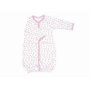 Twenty-Four Seven Convertible Baggie Baby Clothing in Pink Dots