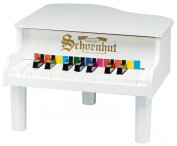 Schoenhut Toy Piano 189W 18 key White Mini Grand