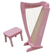 Schoenhut 15 String Harp with Bench