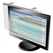 "LCD Protect Privacy Antiglare Deluxe Filter, 24"" Widescreen LCD, Silver"
