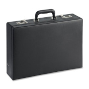 Lorell(R) Expandable Attache Case, 32cm .H x 44cm .W x 10cm .D, Black