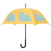 Dog Park Shih Tzu Silhouette Walking Stick Umbrella