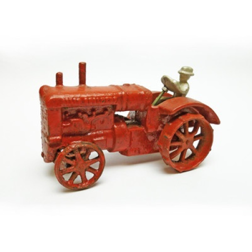 Iron Tractor Wheels : Allis chalmers replica cast iron farm toy tractor free