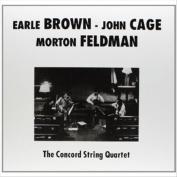 Earle Brwon, John Cage, Morton Feldman
