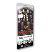 2010 NHL Stanley Cup Champions Chicago Blackhawks Mini Mega Ticket