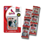 MLB 2010 Team Set with Packs Trading Cards - St. Louis Cardinals