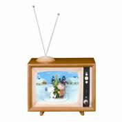 Peanut Holiday Display TV