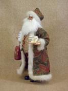 Crakewood Coffee Santa Claus Figurine