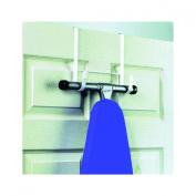 Spectrum 66500 Over The Door Ironing Board Holder, White