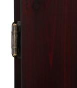 Metropolitan Mahogany Steel-Tip Dartboard Cabinet