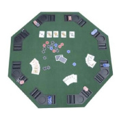 HomCom Deluxe Foldable Card Game Table Top