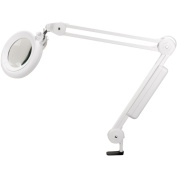 Daylight Slimline Magnifying Lamp, White