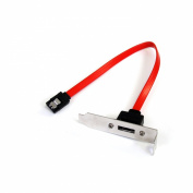 StarTech.com Low Profile Latching SATA to eSATA Plate Adapter