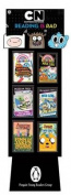 Cartoon Network 24-Copy Mixed Floor Display W/ Riser