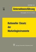 Rationeller Einsatz Der Marketinginstrumente  [GER]