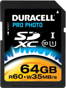 Duracell Duracell 64 GB SDXC Secure Digital Cards