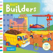 Busy Builders (Busy Books) [Board book]
