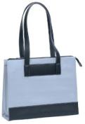 Bellino Black Suede / Leather Tote Bag