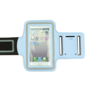 NEW LightBlue Running Sport GYM Armband Protective Case For Apple iPhone 5 5G/iphone 4 / 4S / iPod Touch 4th 5G