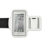 NEW White Running Sport GYM Armband Protective Case For Apple iPhone 5 5G/iphone 4/4S /iPod Touch 4th 5G