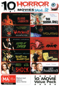 10 Horror Movies [Region 4]