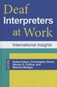 Deaf Interpreters at Work