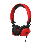 Mad Catz F.R.E.Q. M Mobile Stereo Headset for PC, Mac and Mobile Devices - Red