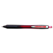 uni-ball 1741780 - Vision Ballpoint Retractable Aeroplane-Safe Pen, Red Ink, Fine-SAN1741780