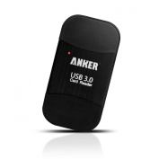 Anker® Uspeed USB 3.0 Card Reader 8-in-1 for SDXC, SDHC, SD, MMC, RS-MMC, Micro SDXC, Micro SD, Micro SDHC Card, Support UHS-I Cards, 18 Months Warranty