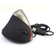 Generic Ergonomic Design WOWPEN Vertical Optical Mouse JOY Wrist Pain Silver