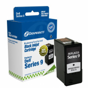 Dataproducts DPCMK990 Remanufactured High Yield Ink Cartridge Replacement for Dell MK990/MK992