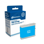 Dataproducts DPCLC51C Remanufactured Ink Cartridge Replacement for Brother LC51