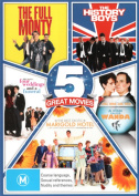 Best of British Comedy 5-Pack (The Full Monty / The History Boys / Four Weddings and a Funeral / A Fish Called Wanda / The Best [Region 4]