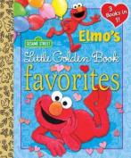 Elmo's Little Golden Book Favorites