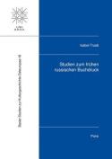 Studien Zum Fruhen Russischen Buchdruck (Basler Studien Zur Kulturgeschichte Osteuropas